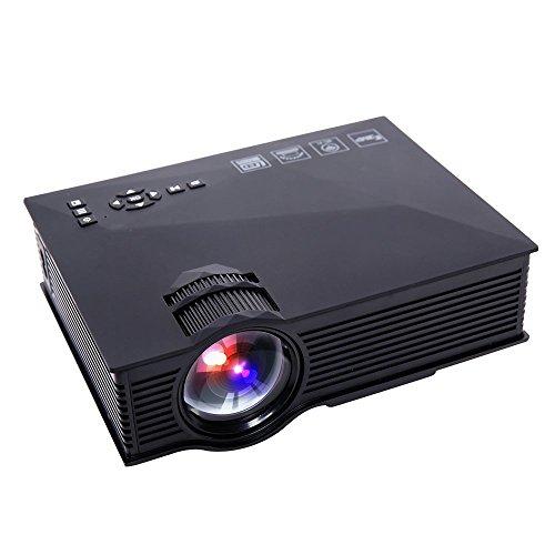 Led Projector Mini Portable Multimedia 1000 Lumens Full Hd