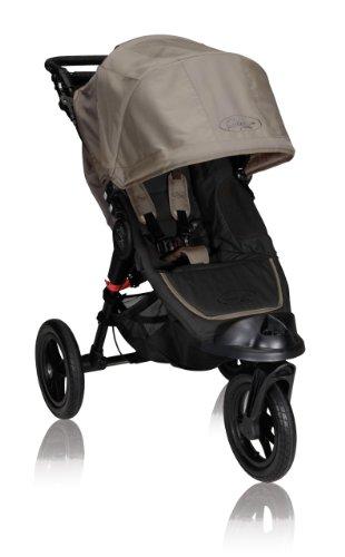 Baby Jogger City Elite Single Stroller, Sand front-14962