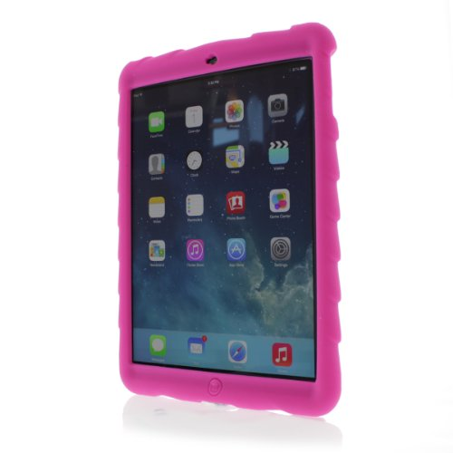 Get a Gumdrop Cases Bounce Skin Case for iPad Air (iPad 5) – Pink (BOUNCE-IPAD5-PNK-V2)