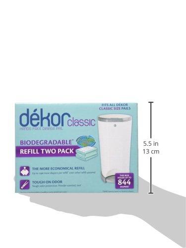 Dekor classic biodegradable refill two count 744953000204 for Dekor classic refill