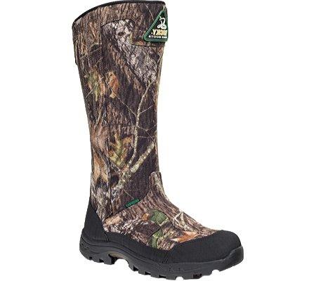 Buy Bargain Men's Rocky 16 ProLight SnakeProof Mossy Oak Break - up Boots