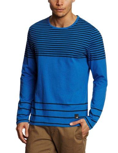 Musto Apex Longsleeves Stripe Men's SweatShirt Cadet Blue Medium