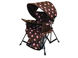 Kelsyus Go With Me Chair, Brown/Pink