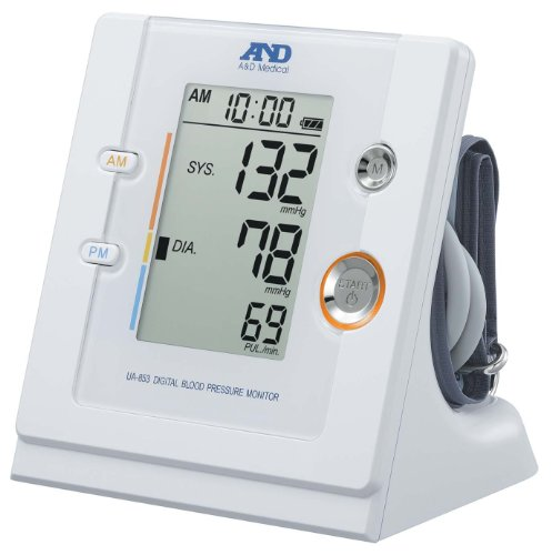 A&D UA-853 Timewise Digital Blood Pressure Monitor