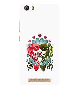 EPICCASE Fish kiss Mobile Back Case Cover For Gionee Marathon M5 lite (Designer Case)
