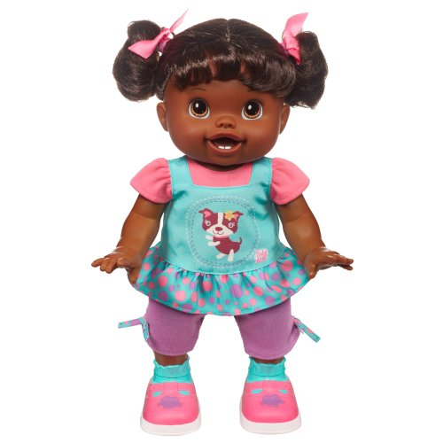 Baby Alive Baby Wanna Walk Doll - African American