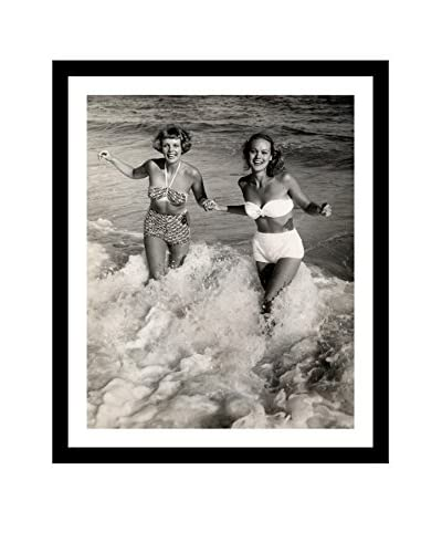 Getty Images Women Playing In The Surf At The Beach