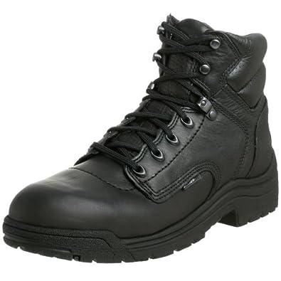 (疯抢)天伯伦 Timberland PRO Men's 26061 Titan 男士真皮减震工作靴$91.68