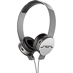 Sol Republic 1231-04 Tracks HD On-Ear Interchangeable Headphones with 3-Button Mic and Music Control - Grey