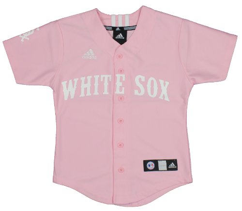 MLB Chicago White Sox Kids Pink Jersey By Adidas (Large (7)) Amazon.com