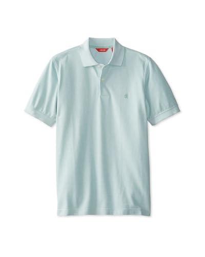 IZOD Men's Short Sleeve Oxford Solid Polo