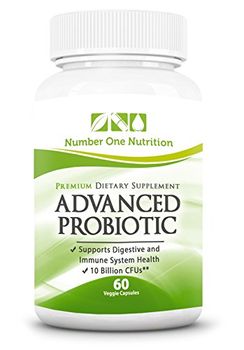 #1 Probiotic Supplement - All Natural Formula Promotes Optimal Health for Women, Men, and Kids. Improve Immune System Function, Colon Health, and Digestion!...