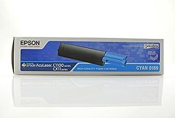 Epson Aculaser CX 11 NFCT - Original Epson C13S050189 - Cartouche de Toner Cyan - 4000 pages