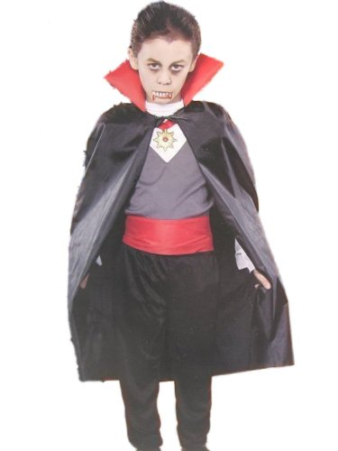 Funworld Boys Classic Vampire Costume With Cape