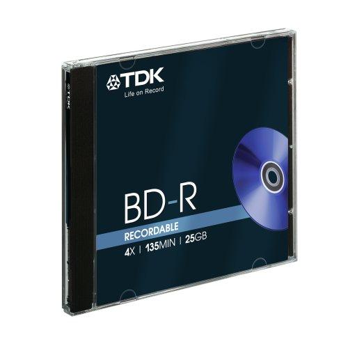 TDK Blu-ray BD-R SL 25GB 1-4x