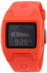 Nixon Herren-Armbanduhr The Lodown Neon Orange Digital Quarz Plastik A5301156-00