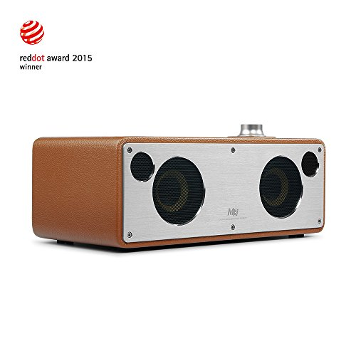 Cheapest Prices! GGMM M3 Retro Wi-Fi/Bluetooth Stereo Wireless Leather Speaker | Featuring 40W Outpu...