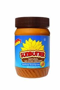 SunButter Natural No-Stir Creamy, 16-Ounce (Pack of 3)