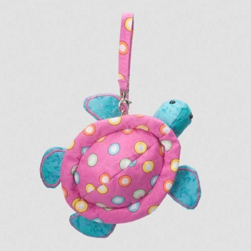 "Gum Drops Turtle Sillo-ette Purse 7"" by Douglas Cuddle Toys"