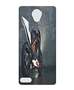 Techno Gadgets Back Cover for Swipe Konnect Plus