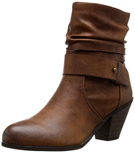 CL by Chinese Laundry Women's Leanna Burnished Boot,Brown,6.5 B(M) US