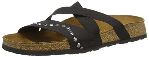 BirkenstockCosma Stretch - Ciabatte Donna , Nero (Schwarz (Wave Black)), 37