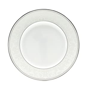 Nikko Pearl Symphony Round Accent Plate, 9""
