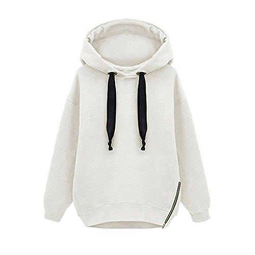 clothingloves-Sweat--capuche-fermeture-clair-chaud-long-pour-femme