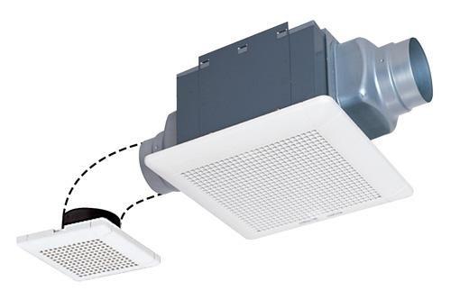 三菱電機 ダクト用換気扇 VD-13ZF9 天井埋込形 低騒音 2部屋換気用