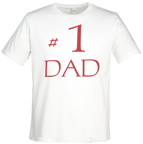 Spoilt Rotten - #1 Dad Men'S T-Shirt - Gift For Dad, White, Xxl