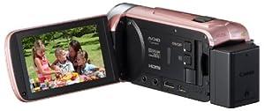 Canon デジタルビデオカメラ iVIS HF R42 ピンク 光学32倍ズーム IVISHFR42PK