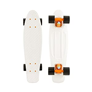 Penny Complete Skateboard (USA WHITE ORANGE 22