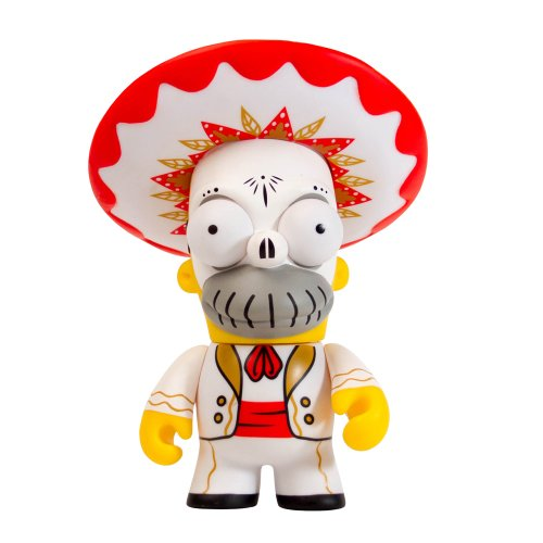 Kidrobot The Simpsons Homer Day of The Dead Mariachi Action Figure