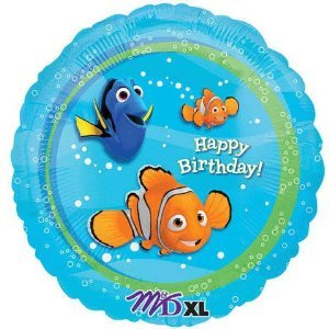 Finding Nemo Happy Birthday Party Mylar Balloon