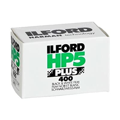 Ilford 1574577 HP5 Plus, Black and White Print Film, 135 (35 mm), ISO 400, 36 Exposures (Discontinued by Manufacturer)