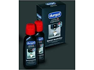 Durgol Swiss Espresso Special Decalcifier, 4.2 fluid ounce Bottles (4) by Durgol