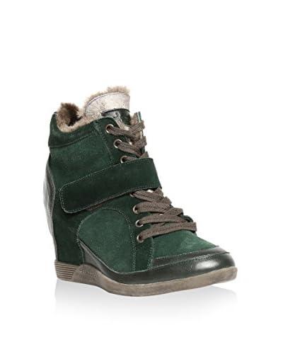 Tosca Blu Keil Sneaker grün