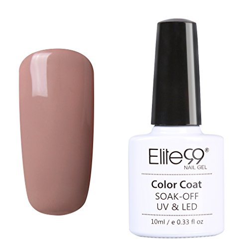Qimisi Nude Color Series Soak Off Shiny Color Gel Polish UV LED Nail Art 10ml 011