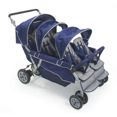 6-Passenger-Folding-Stroller