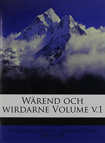 Wärend och wirdarne Volume v.1