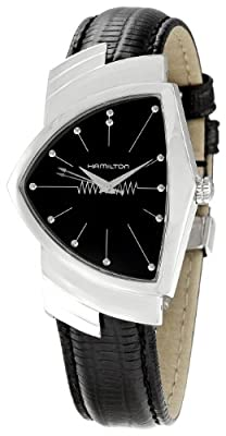 Hamilton Men's H24411732 Ventura Black Dial Watch from Hamilton