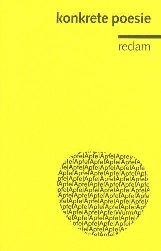 Konkrete Poesie: Deutschsprachige Autoren