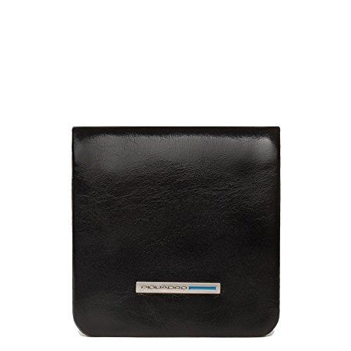 Piquadro PU2636B2 Portamonete, Collezione Blu Square, Nero