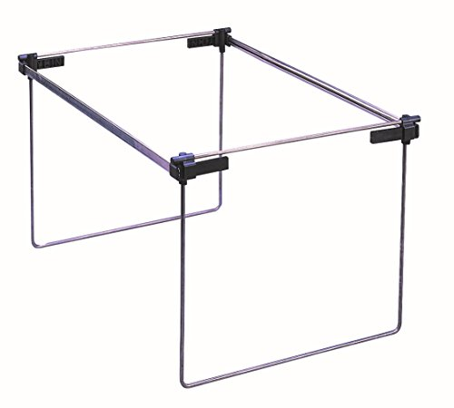 Smead Hanging File Folder Frame, Adjustable Letter/Legal/A4 (64869) (Hanging File Folders Cabinet compare prices)