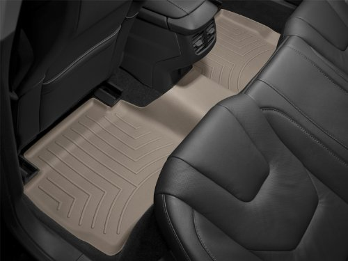 WeatherTech Custom Fit Rear FloorLiner for Honda Accord, Tan (Weather Tech 2012 Honda Accord compare prices)