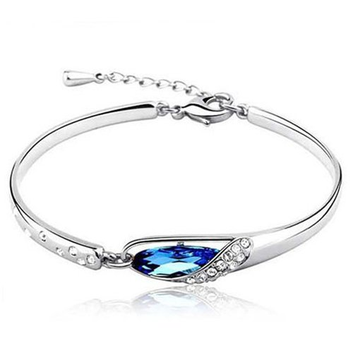 Austrian Crystal Made  Swarovski Elements bracelet/bangle