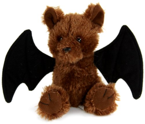 "Purr-Fection Tender Friend Bat Sitting 6"" Plush"