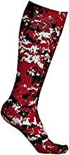 Morehouse College Maroon Tigers Socks Digicamo Design pair
