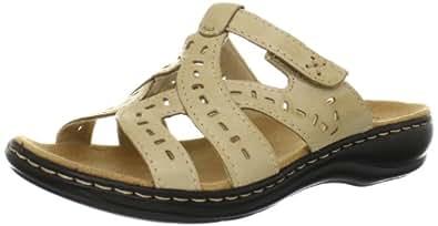 Clarks Women's Truffle Sandal,Bone,5.5 M US