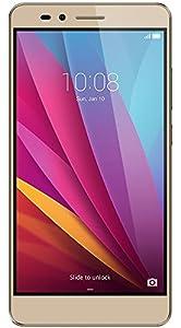 Honor 5X Smartphone débloqué 4G (Ecran: 5,5 pouces - 16 Go - Double Micro-Nano - Android) Or